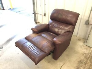 Authentic Leather Recliner Chair **** Delivery Included ****