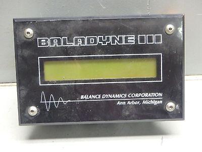 Balance Dynamics Corp. Baladyne Display Modulepn 955version 1.2