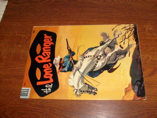 LONE RANGER #84, DELL 1955 COMIC