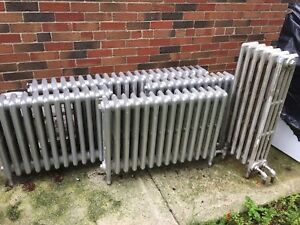 Cast iron radiators *Various Lengths*