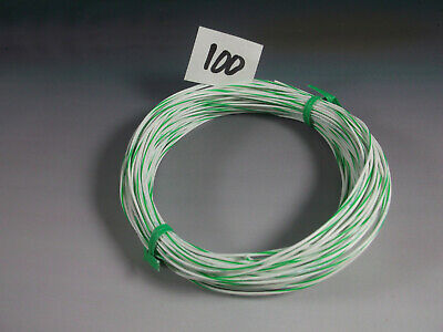 24 Gauge Hookup Wire Silver Plated Copper Teflon Sheath Qty100 Feet
