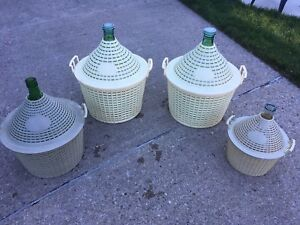 Wine making jugs