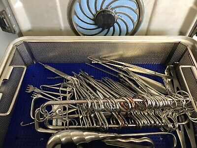 Minor Set Medical Surgical Instrument Tray Complete With Sterilization Tray