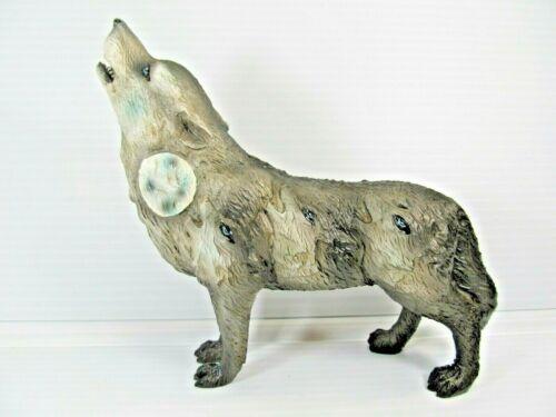 Howling Wolves Spirit Wolf Symbol Resin Figurine
