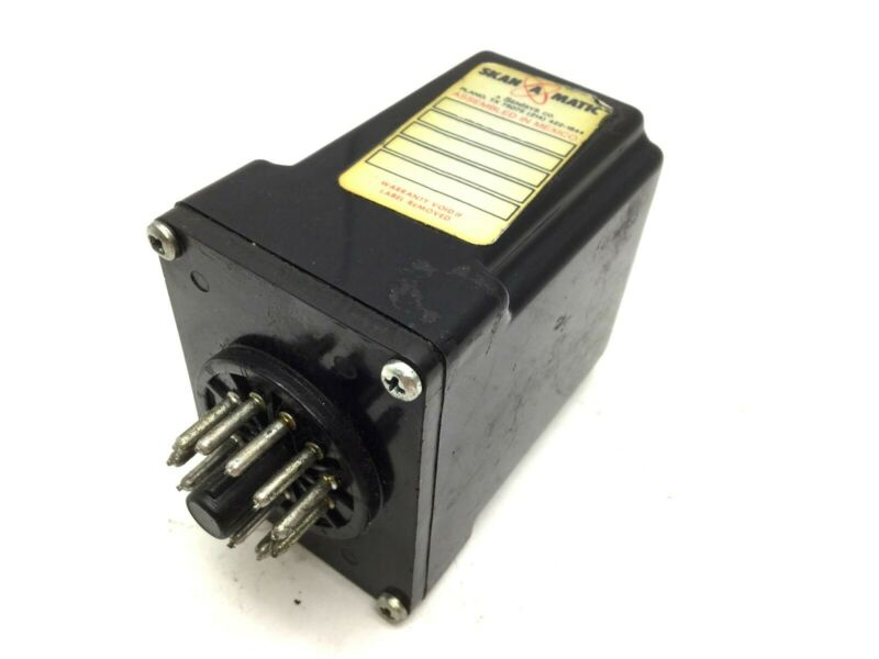 Skan-A-Matic T40200 Amplifier Power Supply Solid State Relay, Voltage: 115VAC