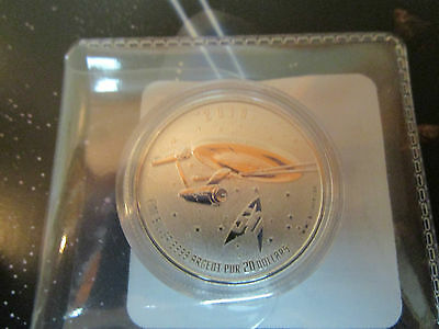 kanada 2016 20 Dollar 999,9/1000 Silber Stempelglanz Raumschiff Enterprise 50