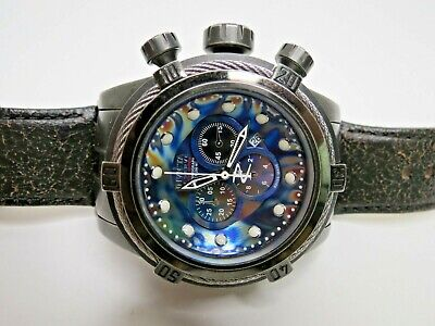Invicta Reserve Bolt Zeus Chronograph Watch 53mm 15970 Swiss Made