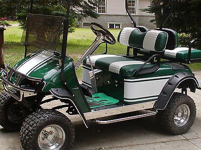 "GOLF Cart 15"" & 9"" Stripe Stripes Graphics Decal Decals Kart EZGO Club Car"