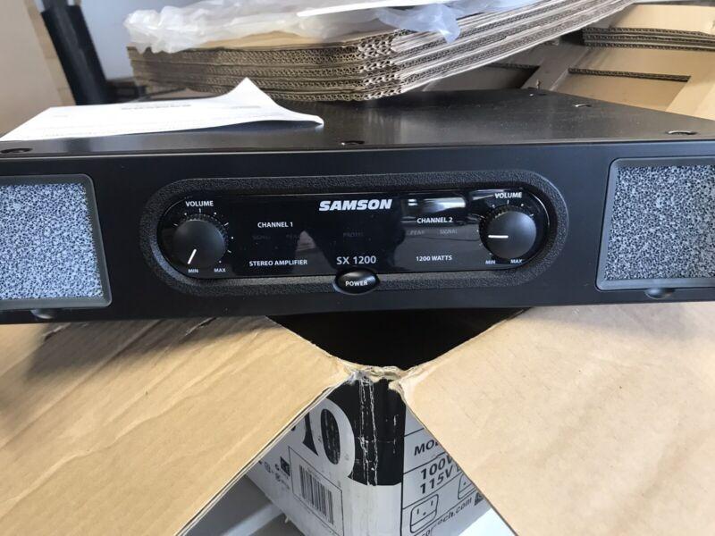 Samson Power Amplifier