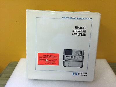Hp Agilent 8568a Spectrum Analyzer Operating Service Manual Volume 3