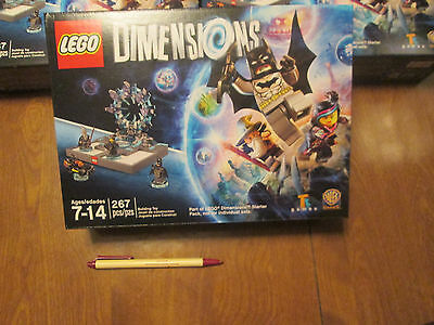 Lego Dimensions Part Of Starter Pack 4 Minifigures Ps4 Ps3 Xbox One 360 No Game