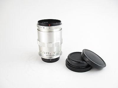 Für Praktina Carl Zeiss Jena Sonnar 4/135 Q1 Objektiv lens 8 blades + caps