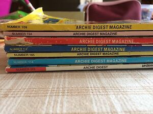 Archie digest magazine