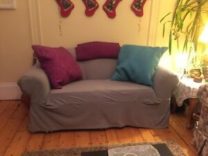 Grey Couch covers