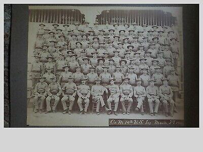 14th US Infantry Co. M 1900  Boxer Rebellion Manilla, P.I.