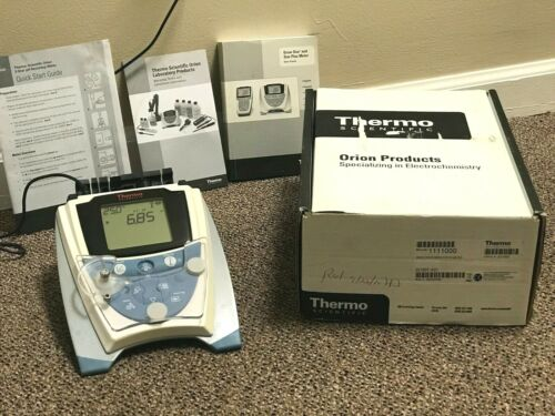 Thermo Scientific Orion Star Series pH Benchtop Meter w/ AC Adapter, Manual