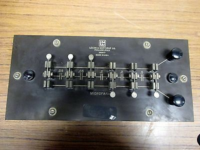Vintage Leeds Northrup Microfarad Capacitor Model 526