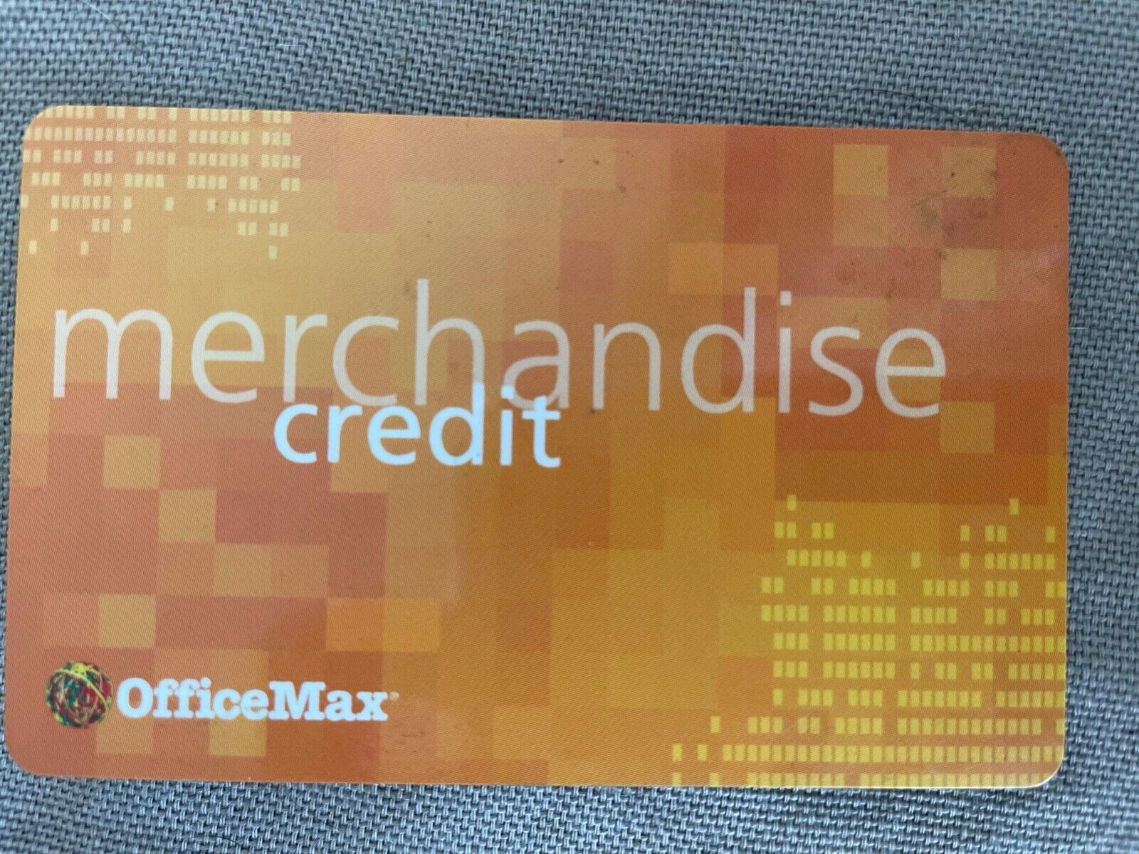 OFFICEMAX Merchandise Credit 51.95 For Your Needs At The Store  - $47.99