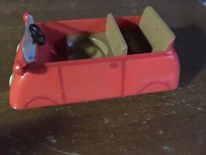 Peppa pig car and microphone