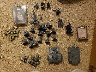 Games Workshop Warhammer 40K Death Guard army lot with codex