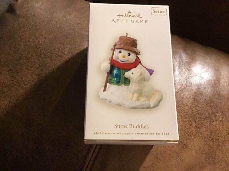 Hallmark 2008 SNOW BUDDIES 11th in Series Mint In Mint Box Keepsake Ornament