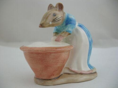 Beswick Beatrix Potter Figurine: Anna Maria BP-3a, mouse