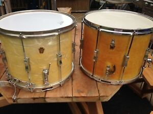 Two WFL / Ludwig snare drums