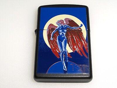 Zippo By Artist Stanley Mouse Led Zeppelin Blue Angel Lighte