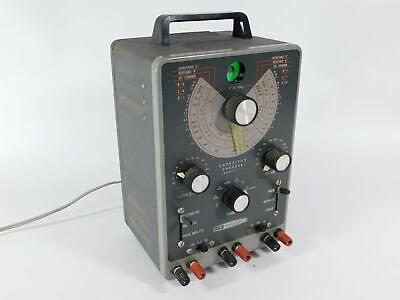 Heathkit It-11 Vintage Tube Capacitor Checker Tester Looks Great Powers Up