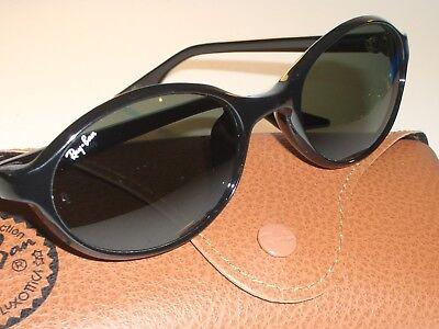 VINTAGE B L RAY BAN W2833 SLEEK SHINY BLACK G15 UV SIDESTREET CATS  SUNGLASSES 3f211a4fc17c
