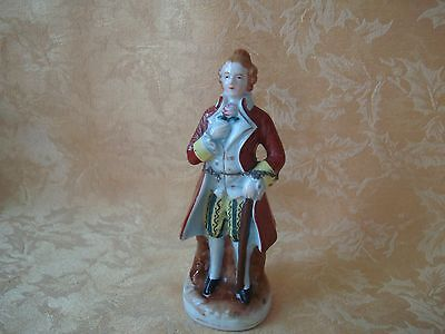 Vintage Madson Occupied Japan Colonial Man Gentleman Figurine
