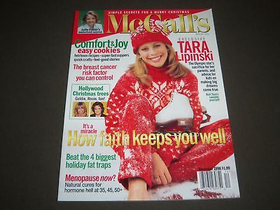 1998 December Mccalls Magazine   Tara Lipinski   Great Cover   O 8356