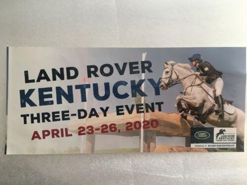 Land Rover Kentucky Three Day Event 2020 Bumper Sticker 2020-Lexington Eventing