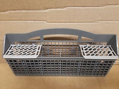 CLEAN Whirlpool MAYTAG Dishwasher W10438331 Silverware Cultery Basket GREY