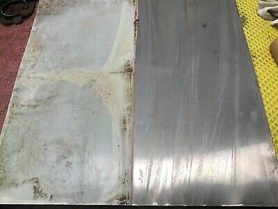 5 Pieces Scrap Stainless Steel Sheet .018 - 24 X 24 Approx.