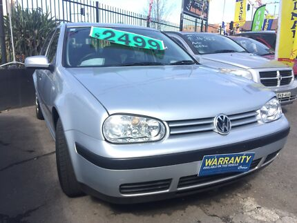 2001 Volkswagen Golf Hatchback 1.6L manual 178kms Liverpool Liverpool Area Preview