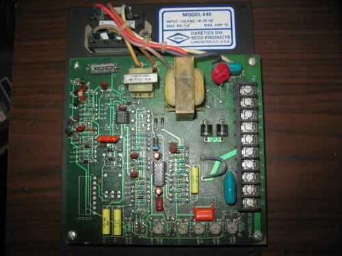Seco / Dana Model 640 120V Motor Controller