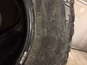 Used LT 265/70R17 tires for sale!