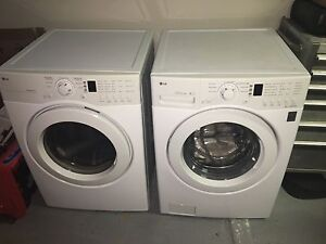 High Efficiency LG Washer and Dryer