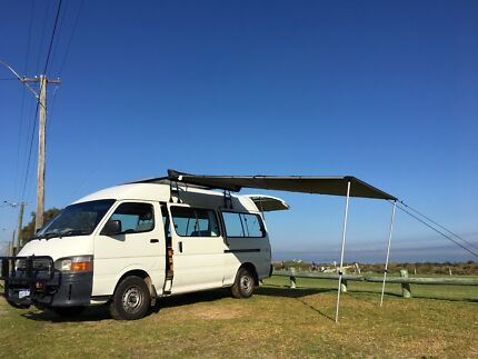2004 Camper,Diesel, 5 seats, low kms , all equipped