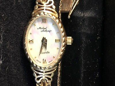 Michael Anthony 14k gold ladies watch
