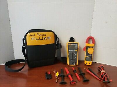 Fluke 116 True Rms Multimeter And 322 Clamp Meter In Soft Case C-x