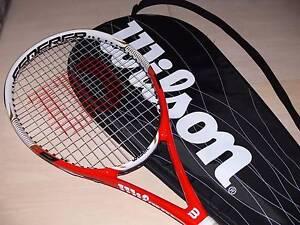 Wilson Federer Pro 105 Tennis Racquet - Unused Highbury Tea Tree Gully Area Preview