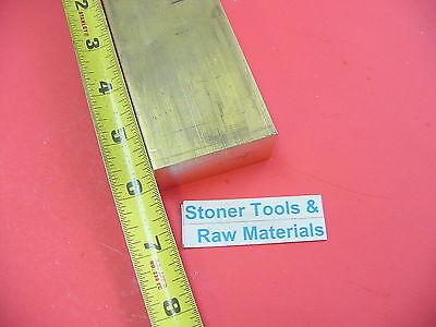 14 X 2 C360 Brass Flat Bar 6 Long Solid .25 Plate Mill Bar Stock H02