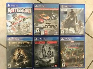 Variety of PS4 Games CHEAP