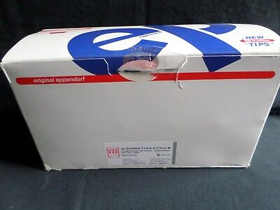 960 Eppendorf Dual Filter 10ul Tips Pcr Clean Sterile Racked 022491211