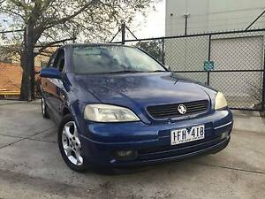 2003 Holden Astra TS MY03 SRi Auto Hatchback REGO AND RWC INC Moorabbin Kingston Area Preview