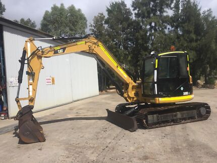 2010 Caterpillar 308D CR Excavator for sale/hire 3 buckets