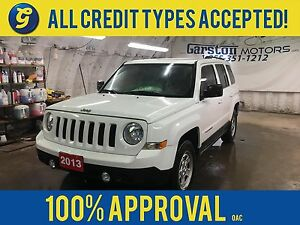 2013 Jeep Patriot NORTH*4WD*CRUISE CONTROL*CLIMATE CONTROL*TRACT