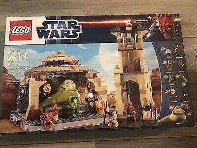 Lego Star Wars Jabba's Palace #9516 Brand New Sealed Free Shipping